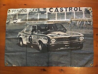 LJ TORANA HOLDEN GMH Brock 3x2 foot mancave flags shed poolroom wall hanging