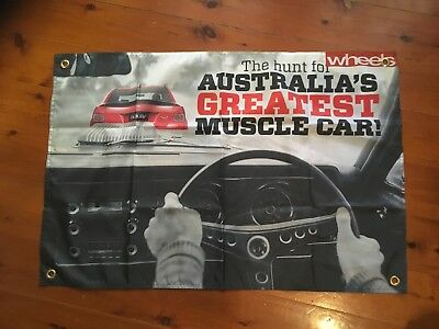 HSV Holden gmh Monaro muscle 3x2 foot mancave flags shed poolroom wall hanging