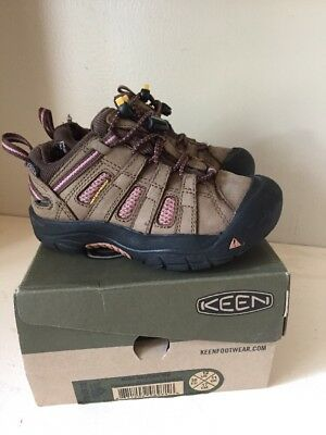 Keen Skyline Size 12 Youth Girls Shoes Pinecone Brandied Apricot