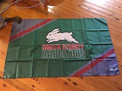 South Sydney Rabbitohs FOOTBALL CLUB man cave  flag 5x3 ft NRL Father's Day gift