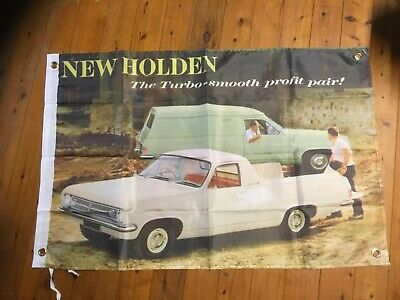 Holden GMH 3x2 ft Man cave flag art pool room sign wall hanging signs bar garage