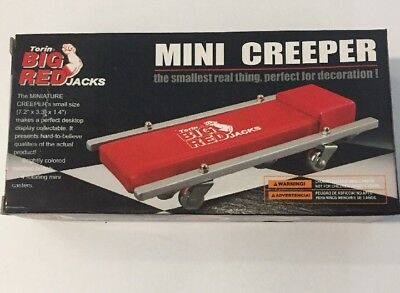 Torin Big Red Mini Creeper Mechanics Inspection Trolley Decoration New