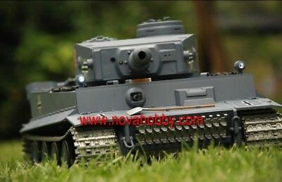 1/16 2.4G RC Henglong Smoke & Sound German Tiger I Tank I Premier Vesion