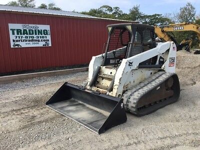 2007 Bobcat T250 Tracked Skid Steer Loader!