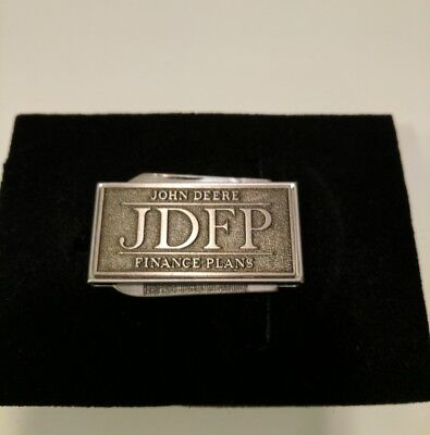 John Deere Knife File Belt Clip on JDFP Finance Plans NIB