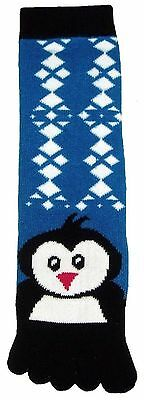Penguin (TS013) Toe Socks New Gift Fun Unique Cute