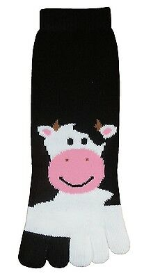 Cow (TS035) Toe Socks New Gift Fun Unique Cute