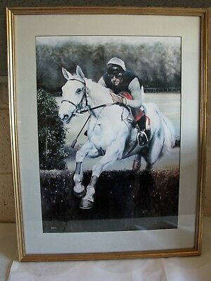 Desert Orchid Print By T. Hurr