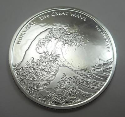 2017 Fiji 1 oz Silver Coin - Great Wave
