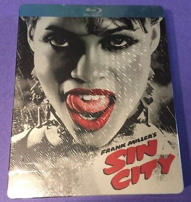Sin City [ Limited STEELBOOK Edition v2 ] (Blu-ray Disc)  NEW