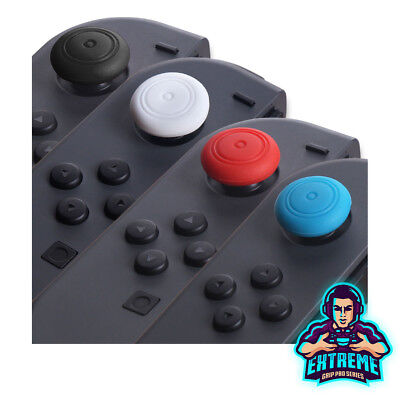 2 x ExtremeGripPro® Thumb Stick Grip Caps For Nintendo Switch Joy Con Controller