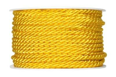 Cord yellow 4mmx25m Cord band Craft cord craft cord 0.36 EUR/Meter