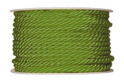 Cord apple green 4mmx25m Cord band Craft cord craft cord 0.36 EUR/Meter