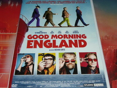 dvd neuf good morning england avec hoffman nighy ifans frost de curtis