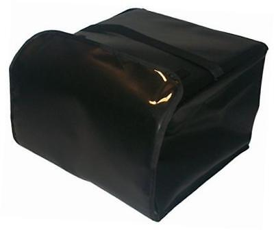 """pk-3520-black insulated pizza delivery bag, holds 5 each 18"""" pizzas, 20"""" x 20"""""""