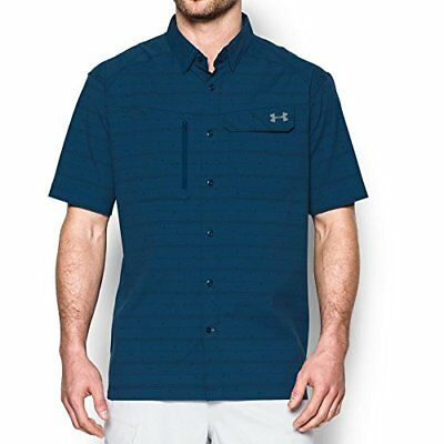 Under Armour Outdoors Mens Fish Hunter Plaid Short Sleeve- Pick SZ/Color.