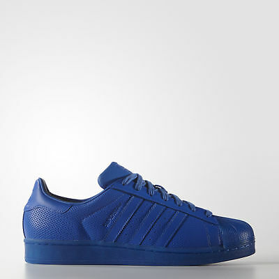 New adidas Originals Superstar Shoes S80327 Men's Blue Sneakers