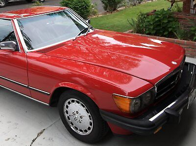 1986 Mercedes-Benz SL-Class Convertible 1986 Mercedes Benz 560SL Convertible Incl Hardtop all orig documentation CA car