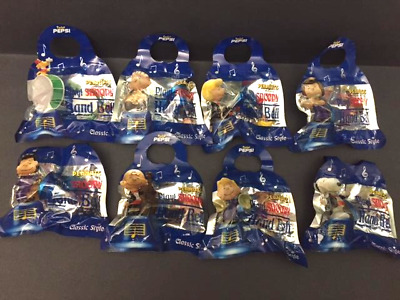 PEPSI PEANUTS SNOOPY MUSICAL HAND BELL Complete set NEW with Packages (JAPAN)