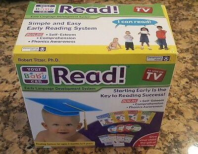 Your Baby Can Read Early Language Development System Complete Set MINT CONDITION