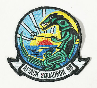 VA-95 Skyknights / Green Lizards Attack Squadron 95 Patch