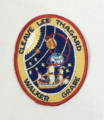 NASA Space Shuttle Mission STS-30 Atlantis Cleave Lee Thagard Walker Grabe Patch