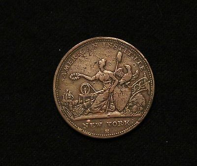 1833 Hard Times Token Robinson's Jones Sporting Buttons Military Naval!!!