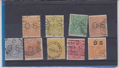 Selection of KGV OS Perf & Overstamp