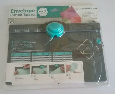 We R Memory Keepers Envelope Punch Board New