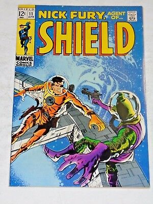 Nick Fury Agent Of Shield #11 comic book (Nmint)