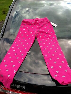 Juicy Couture Heart French Terry Jogger Pants Girls' Clothes Size xs- s