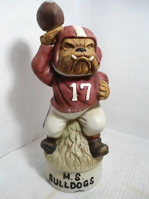 Bulldog Collectible: Very Rare 1977 Hoffman Mississippi State Football Decanter