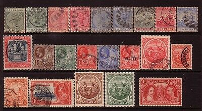BARBADOS....  x22 earlies mostly used