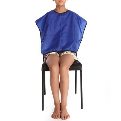 Waterproof Hairdressing Wrap Salon Hair Styling Gown Apron Adult kid Shampo Cape