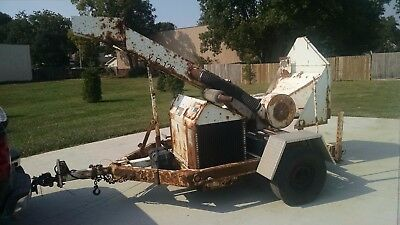 Altec Chipper with Kubota Diesel