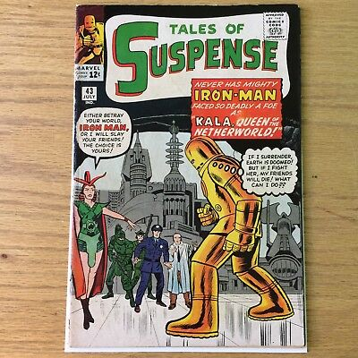 Tales Of Suspense 43! First Appearance Of Kala & 5th Iron Man! *Color Touch