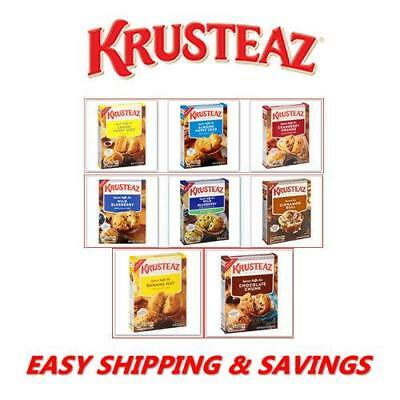 Krusteaz Muffin & Cake Mix : Variety Of Delicious Flavors Free World Shipping!!