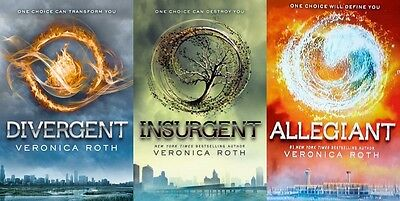 The Divergent Trilogy Series Audiobooks - by Veronica Roth - MP3 Unabridged