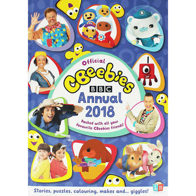 Cbeebies Official Annual 2018 by BBC (Hardback), Children's Books, Brand New