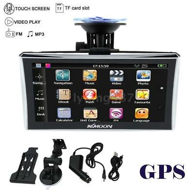 "7"" Touch tragbare GPS Navigator Navigation Navi FM MP3 Video With Free Map K2T5"