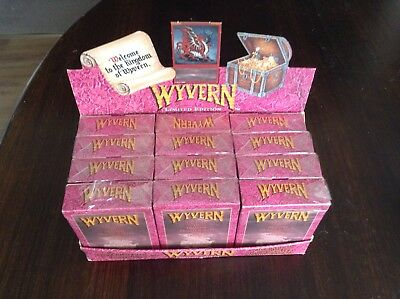 Vintage 1994 WYVERN D&D collectable trading card game POS BOX  & Sealed Packs!