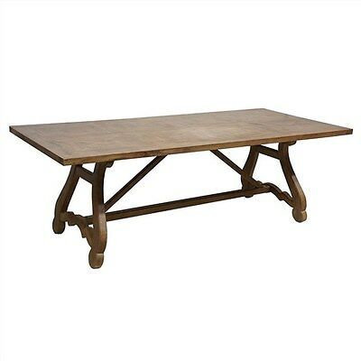 Parkham Solid Mango Wood Timber Dining Table - 220Cms.