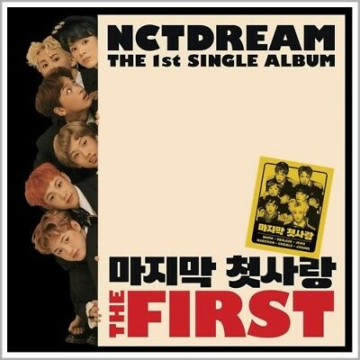 NCT DREAM [THE FIRST] 1st Single Album CD+Photo Book+Photo Card+GIFT CARD SEALED