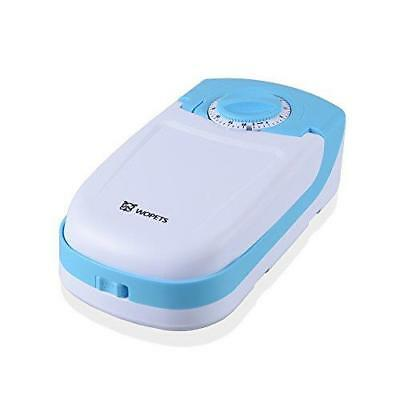 Automatic Pet Feeder Food Dispenser By Wopet Cat And Small Dogs - Blue