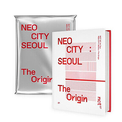 NCT 127 1ST TOUR NEO CITY:SEOUL-THE ORIGIN Photo Book&Live Album(2CD)+Lyric+Card