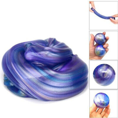 1x Shining Galaxy Crystal Ball Clay Slime Hand Gum Jelly Mud Toy Halloween Gifts