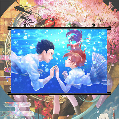A Silent Voice Nishimiya Syouko Poster Wall Mural Scroll Painting 40*60cm