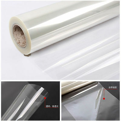 Safety&Security Window Film Clear Glass Protection 99% UV Rejection Width:50cm M