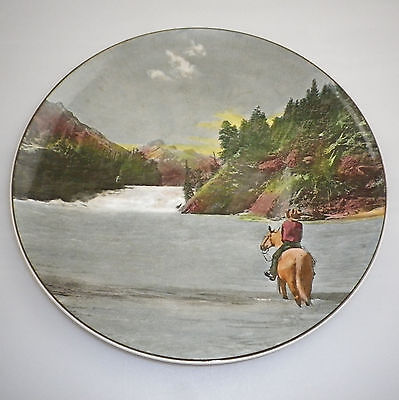 Royal Doulton Series Ware Canadian Views Cabinet  Plate