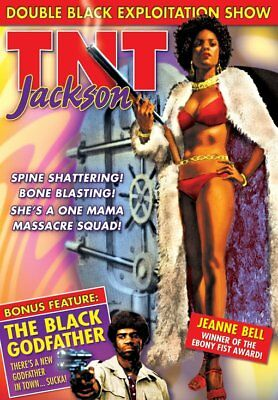 TNT Jackson (1979) / The Black Godfather (1974) NEW DVD